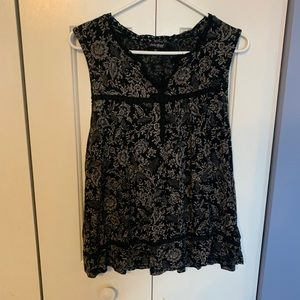 Lucky Brand Tank with detail